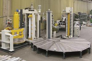 Вертикальные установки для производства емкостей