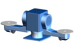 2-станционный позиционер с горизонтальными осями R2L/R2C-серии