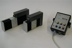 DTE 80 и DTE180 Генератор линейных колебаний с электронным реверсированием и механической регулировкой