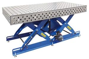 Пятисторонние сварочные столы серии SSTW-Flex