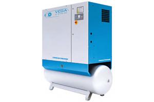 Компрессоры масляные с ременным приводом серии VEGA OPTIMA 7,5–22 кВт