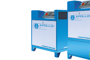 Компрессоры масляные с прямым вертикальным приводом серии APOLLO 3–30 кВт