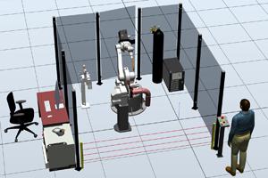 Роботизированный комплекс для сварки отводов