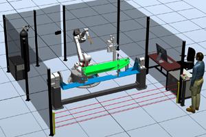 Роботизированный комплекс для сварки деталей сельхозтехники