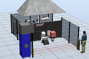 Роботизированный комплекс для сварки корпусных деталей