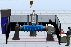 Роботизированный комплекс для восстановления деталей при помощи наплавки металла