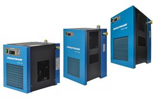 Осушители рефрижераторного типа серии KHD 0,35 -22,0 м3/мин