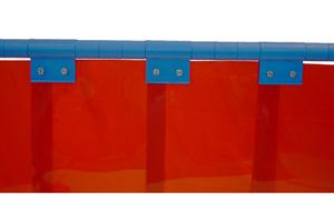 Сварочная жалюзийная занавеска, ширина 300мм, толщина 2мм или 3мм