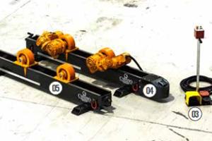 Роликоопора OBY 15 - 15Т (холостая + приводная)