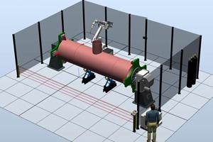 Роботизированный комплекс для сварки труб