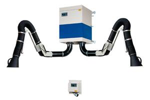 Стационарный механический фильтровентиляционный агрегат CAREMASTER с 2 вытяжными устройствами