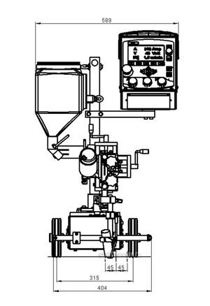 Сварочный трактор Мультитрак А2 (SAW)